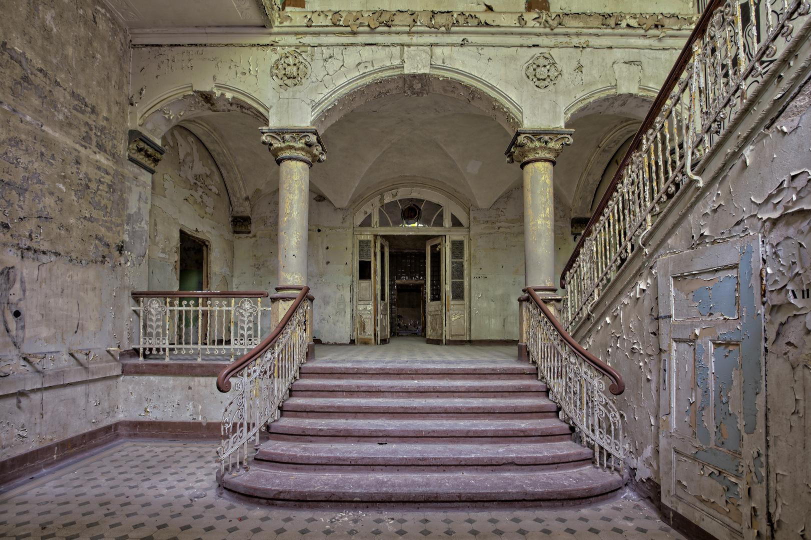 Beelitz Heilstätten - Männerlungenheilstätte Wohnpavillon (2)