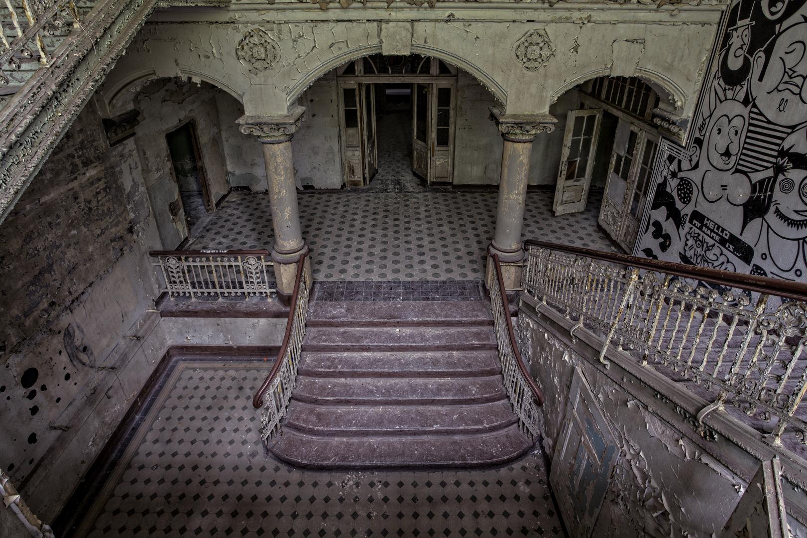 Beelitz Heilstätten - Männerlungenheilstätte Wohnpavillon (4)