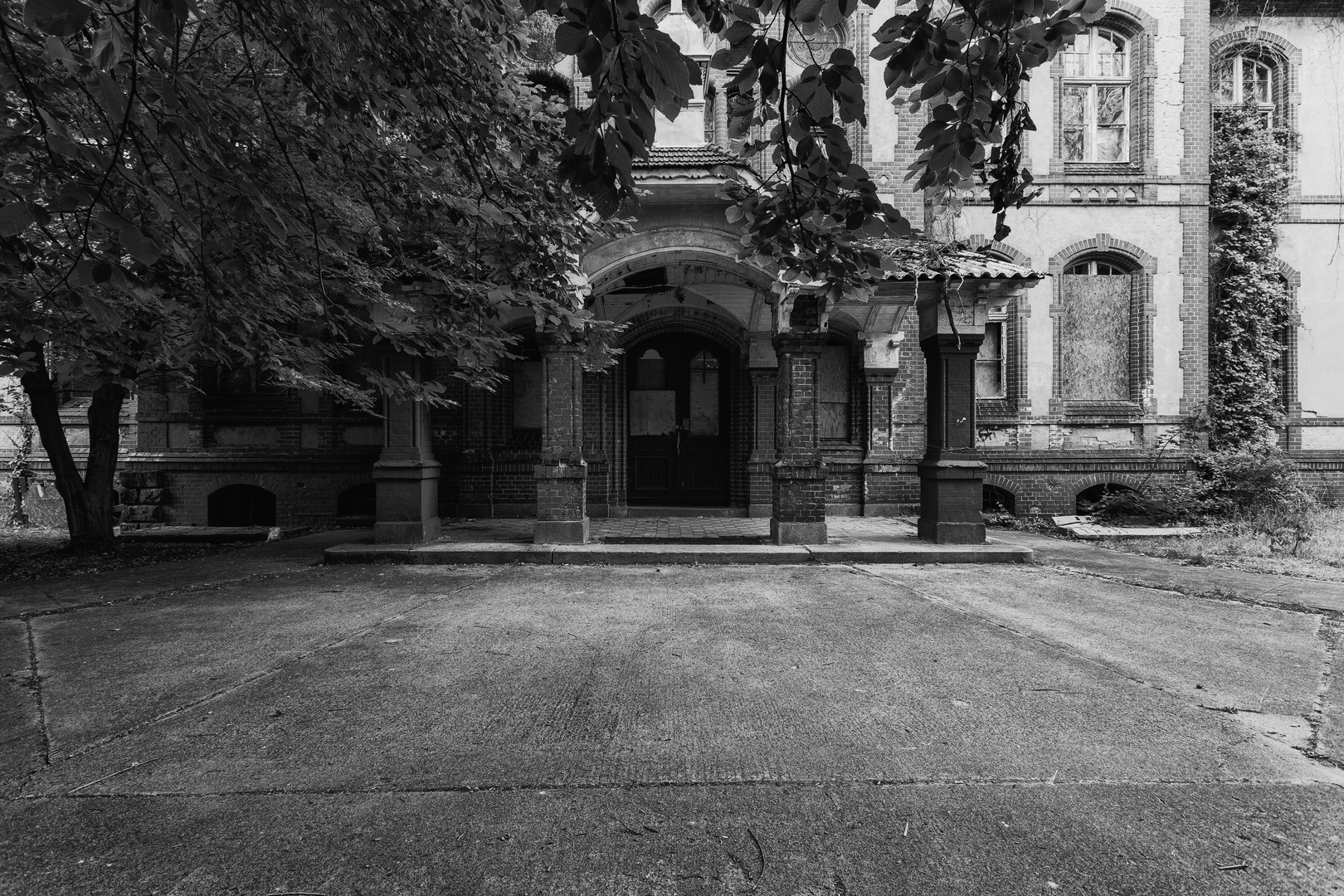 Beelitz Heilstätten - Männerlungenheilstätte Wohnpavillon (7)