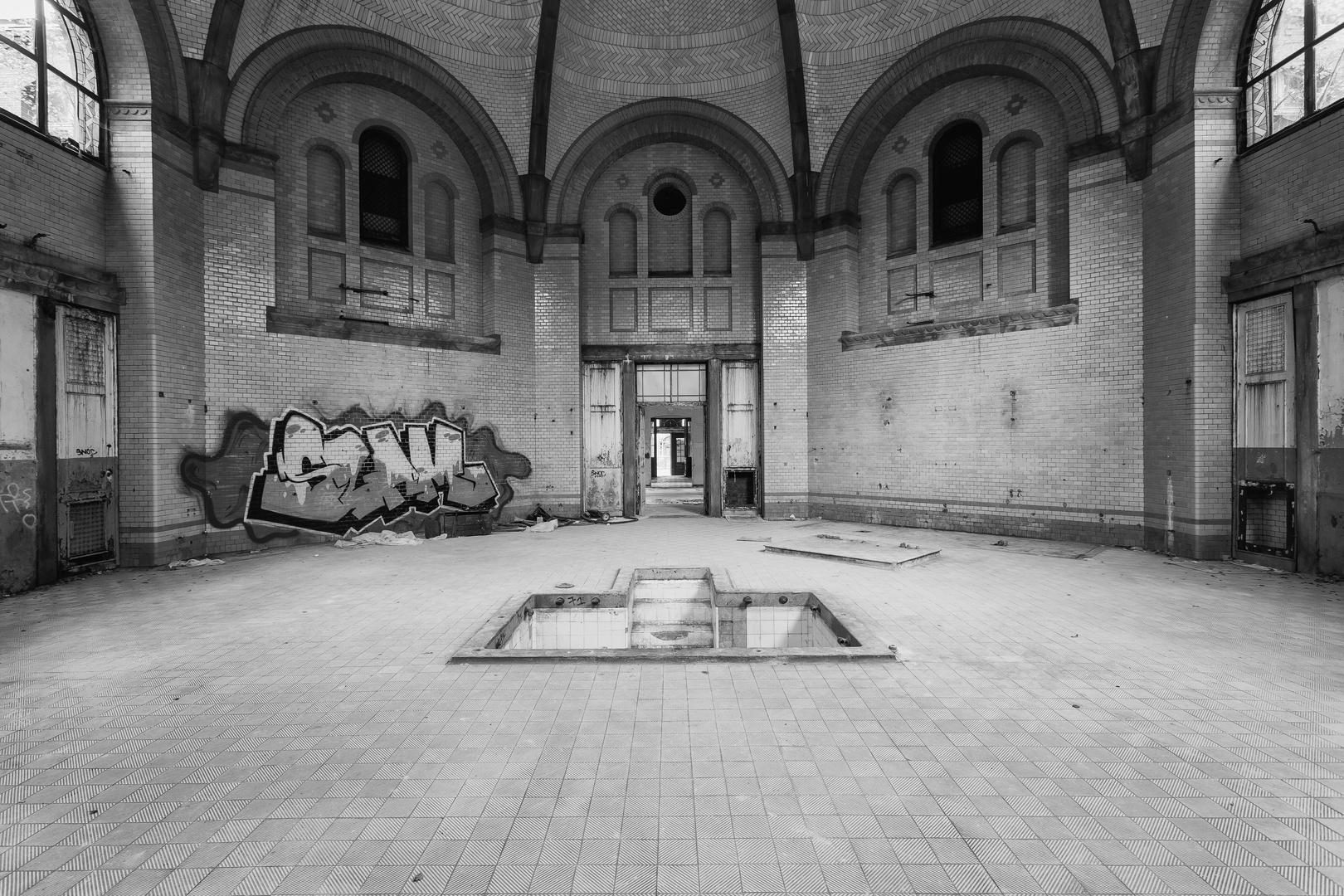 Beelitz Heilstätten - Männersanatorium Zentralbadeanstalt (11)