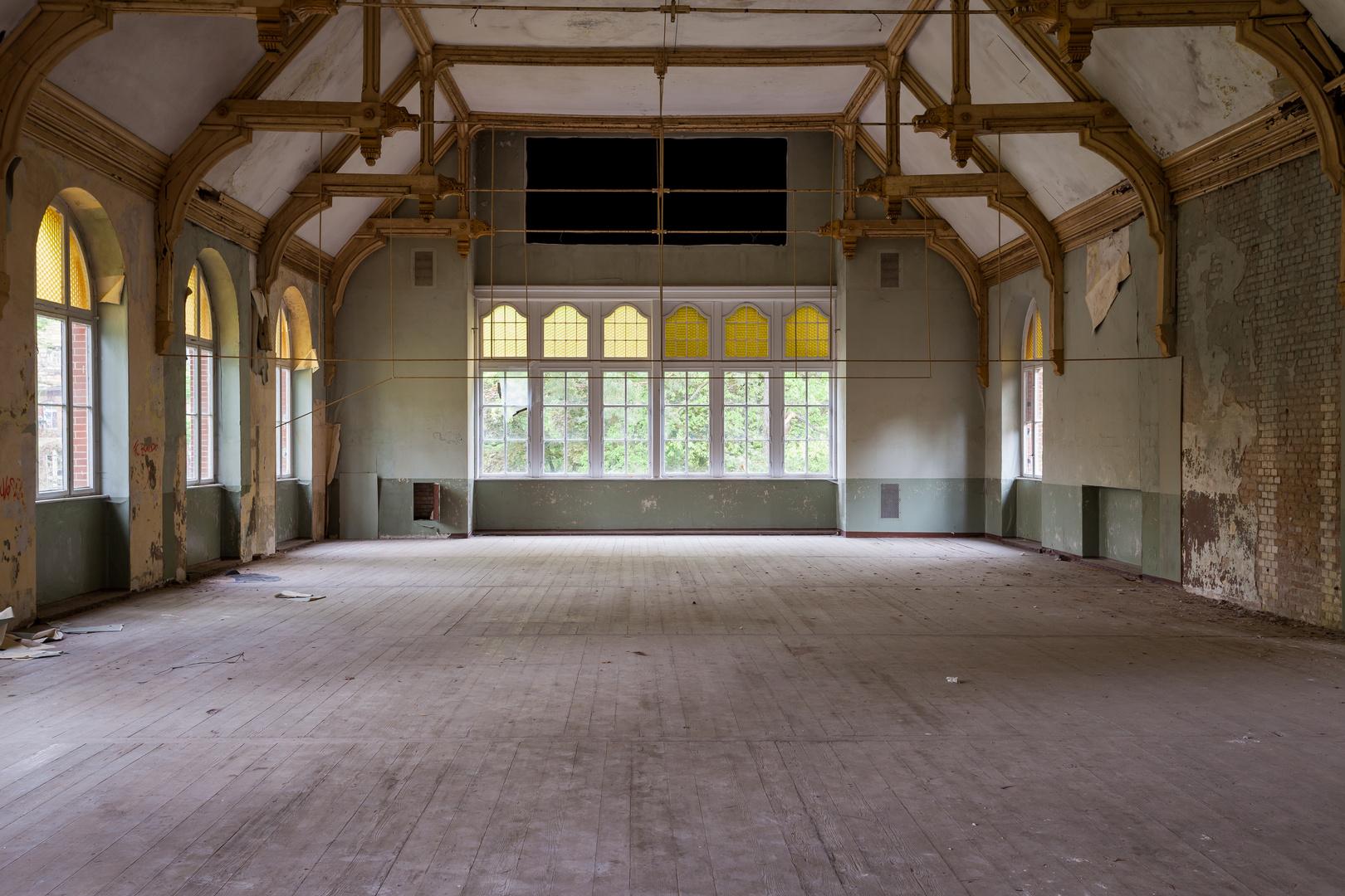 Beelitz Heilstätten - Männersanatorium Zentralbadeanstalt (12)