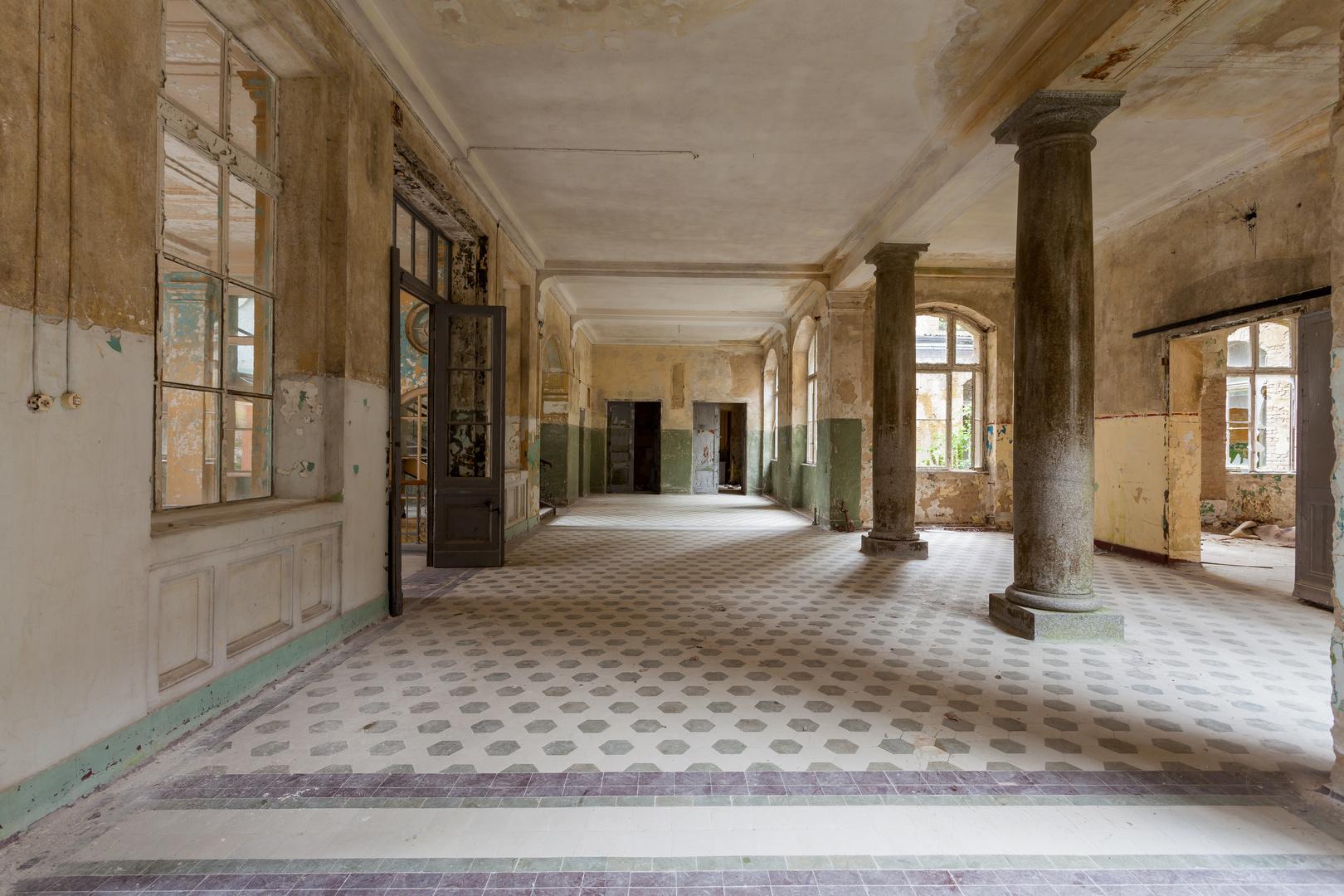 Beelitz Heilstätten - Männersanatorium Zentralbadeanstalt (17)