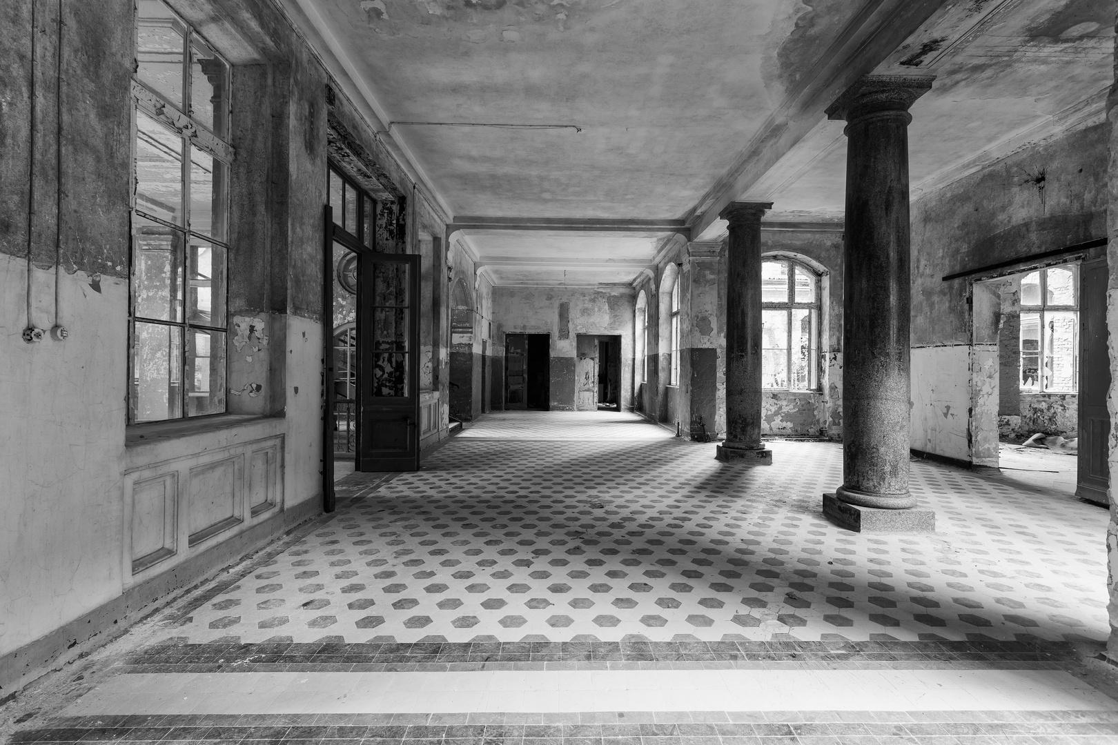 Beelitz Heilstätten - Männersanatorium Zentralbadeanstalt (18)