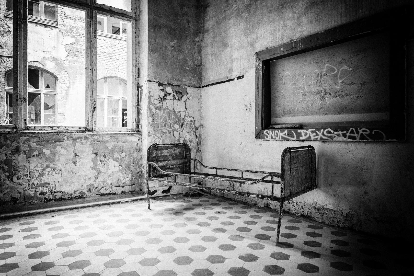 Beelitz Heilstätten - Männersanatorium Zentralbadeanstalt (22)