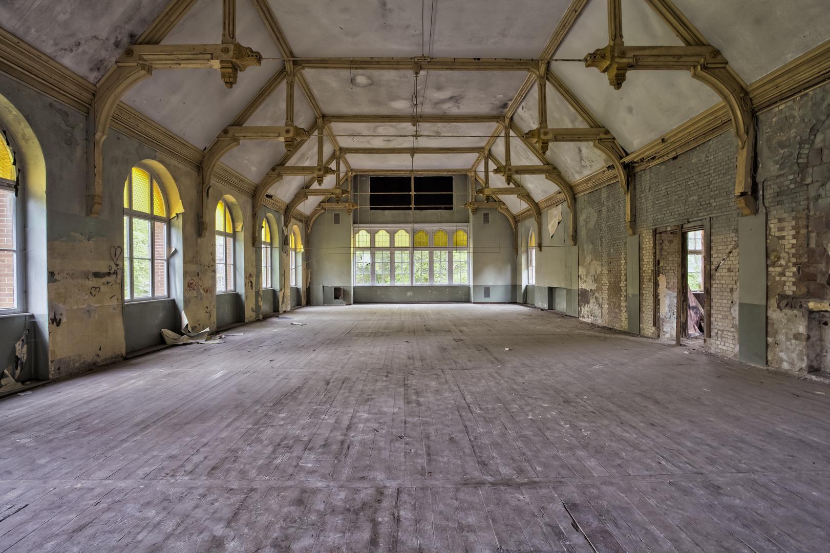 Beelitz Heilstätten - Männersanatorium Zentralbadeanstalt (29)