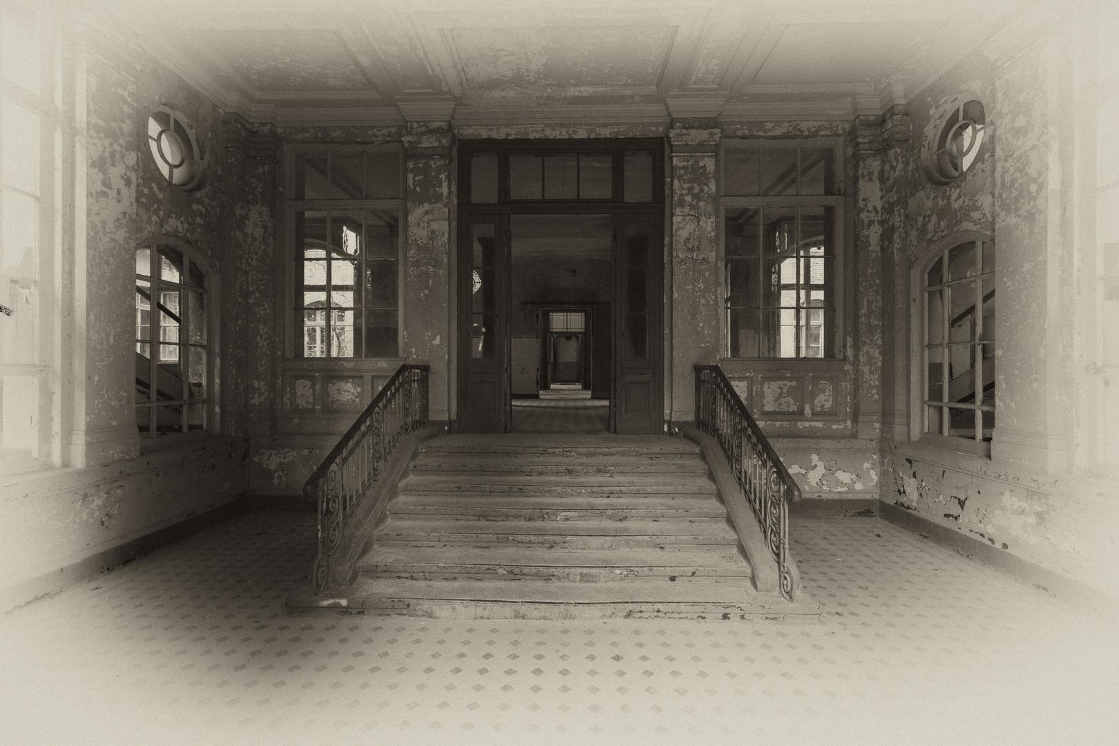 Beelitz Heilstätten - Männersanatorium Zentralbadeanstalt (6)