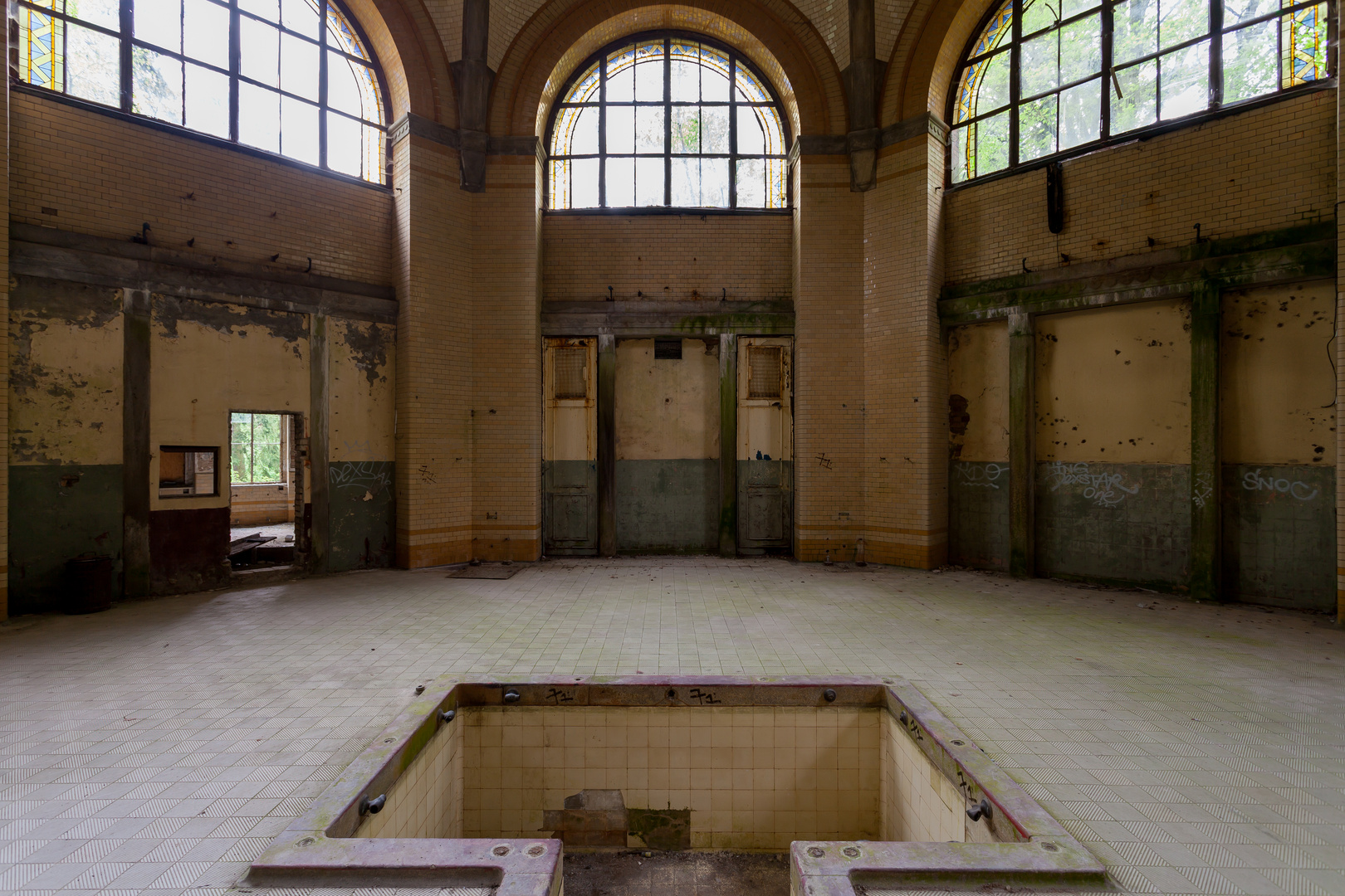 Beelitz Heilstätten - Männersanatorium Zentralbadeanstalt (7)
