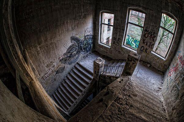 Beelitz Heilstätten - Treppen
