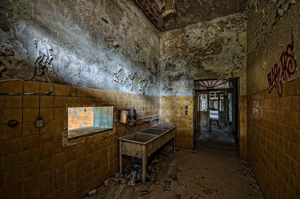 Beelitz Heilstätten - Waschraum