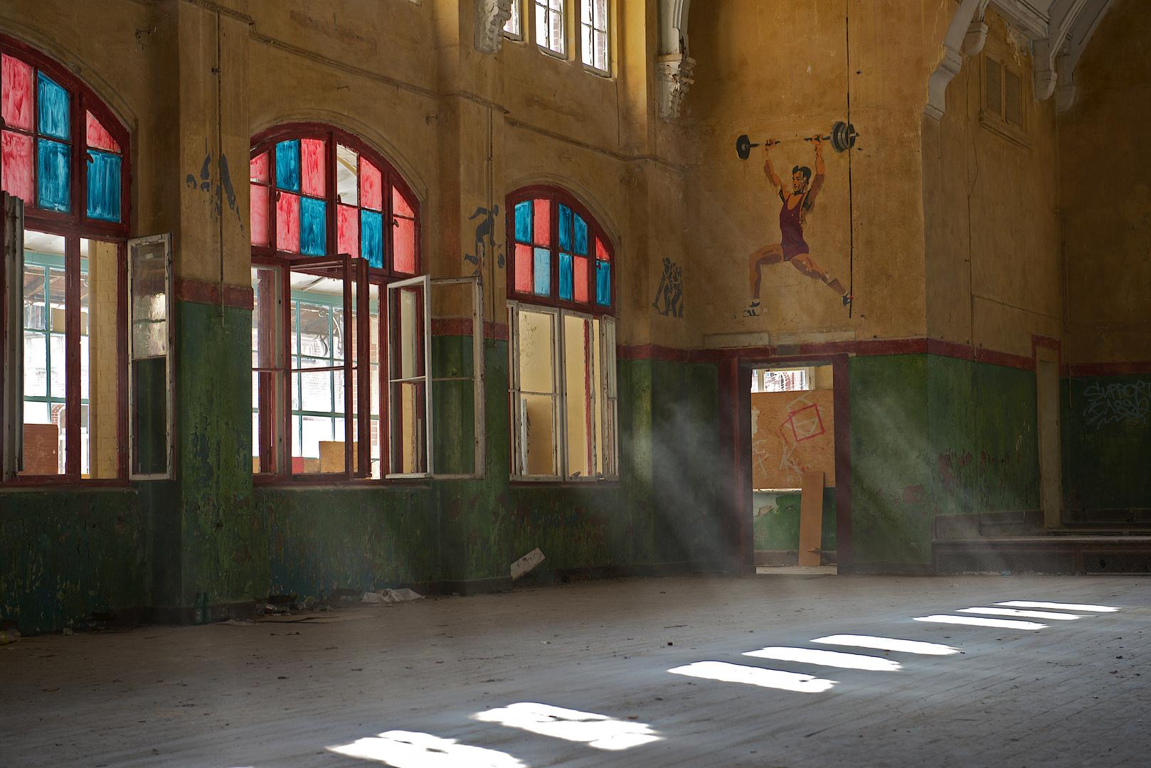 Beelitz Sanatorium Turnhalle