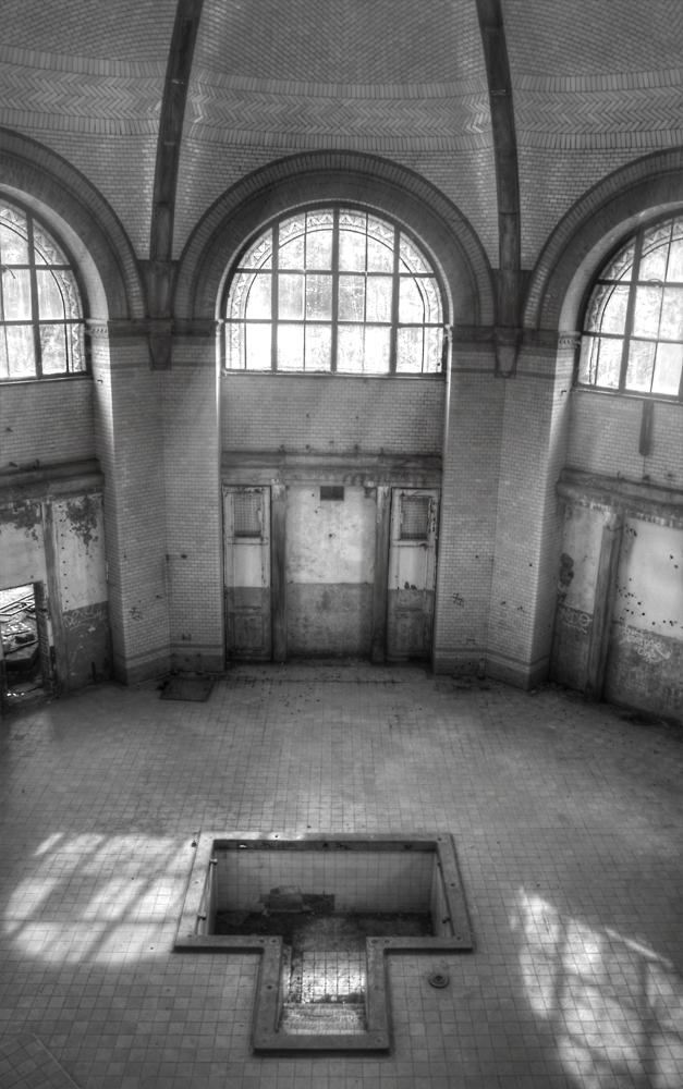 Beelitzer Heilstätten - Badehaus