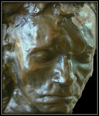 Beethoven / Bronze de Bourdelle