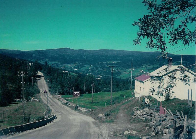 befestigte Piste in Mittelnorwegen (1970)