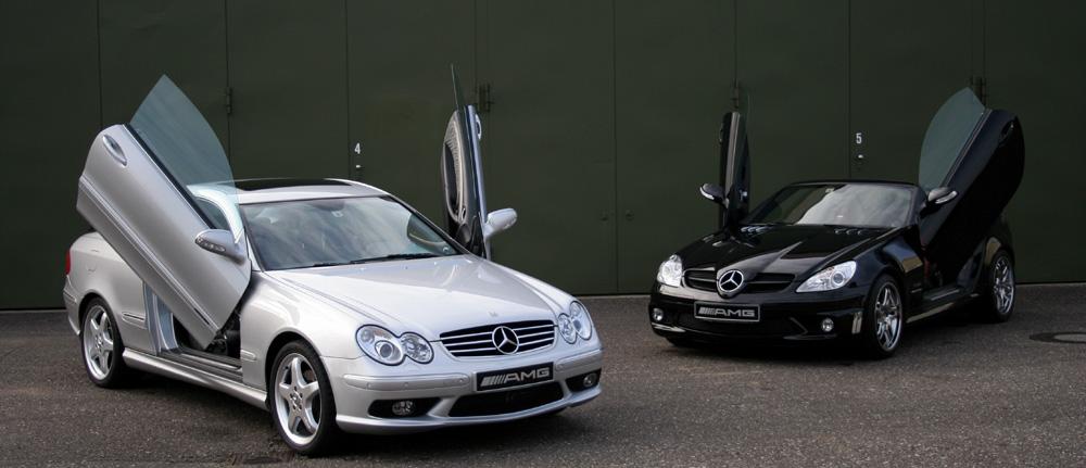 beflügelte Mercedes