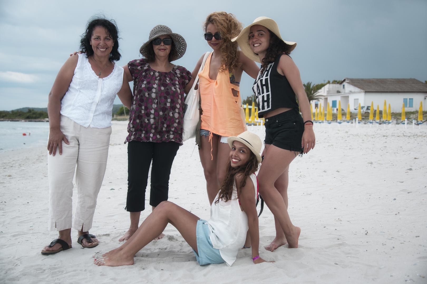 Begegnung am Strand
