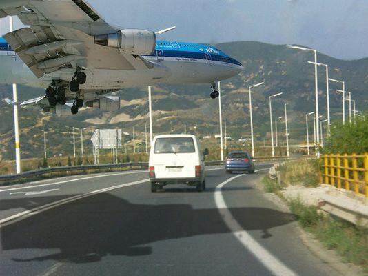 Begegnung auf der Straße nach Kavala