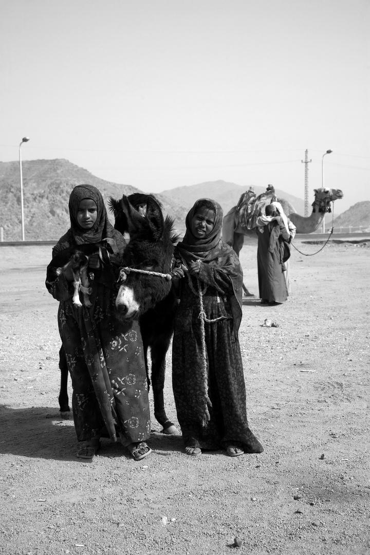 Begegnung in der Arabischen Wüste