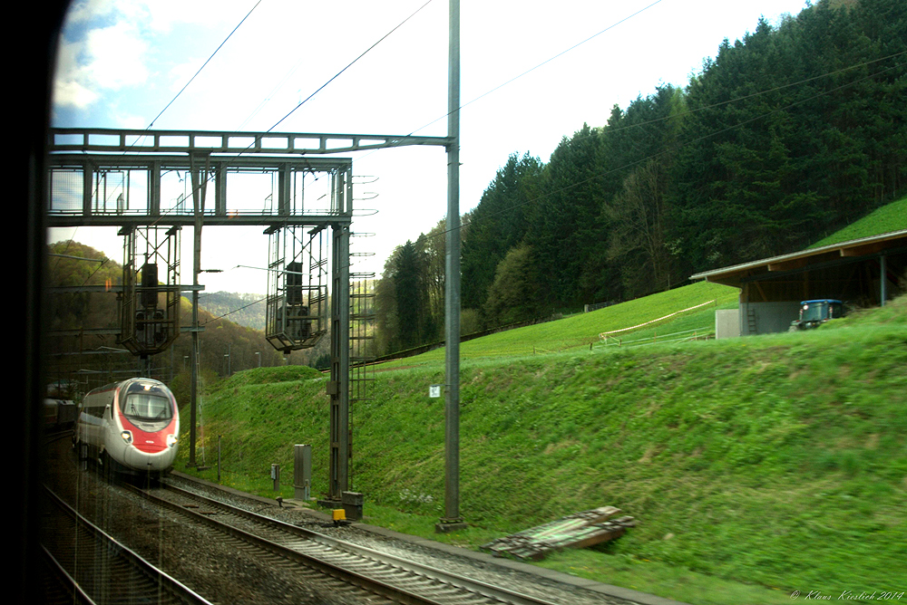 Begegnung in der Schweiz.......
