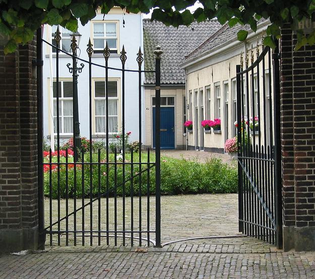 Begijnhof in Doesburg (NL)