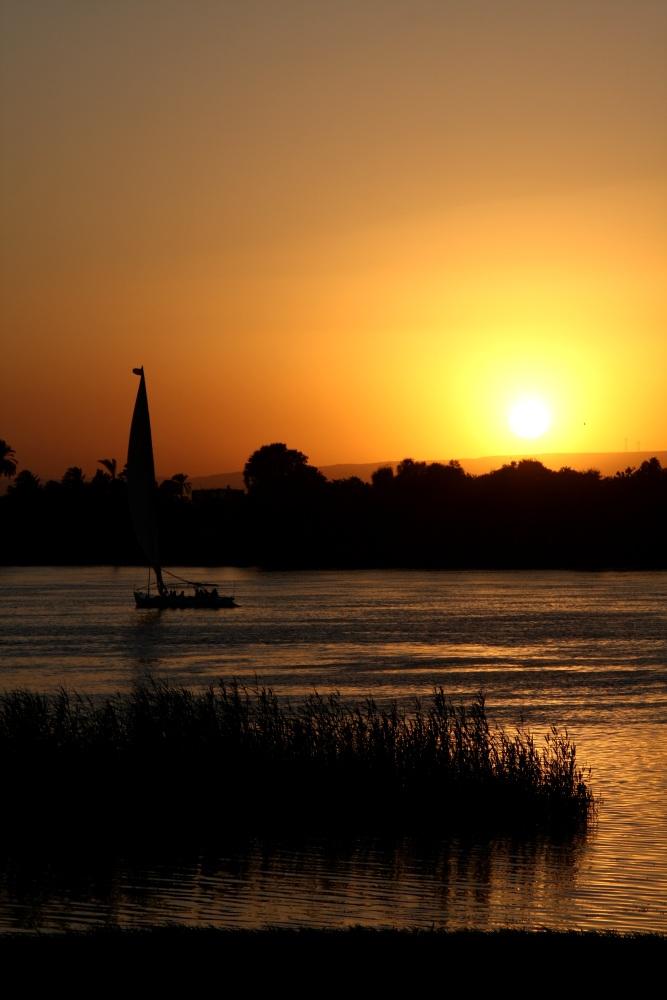 Beginn der Schlafenszeit am Nil