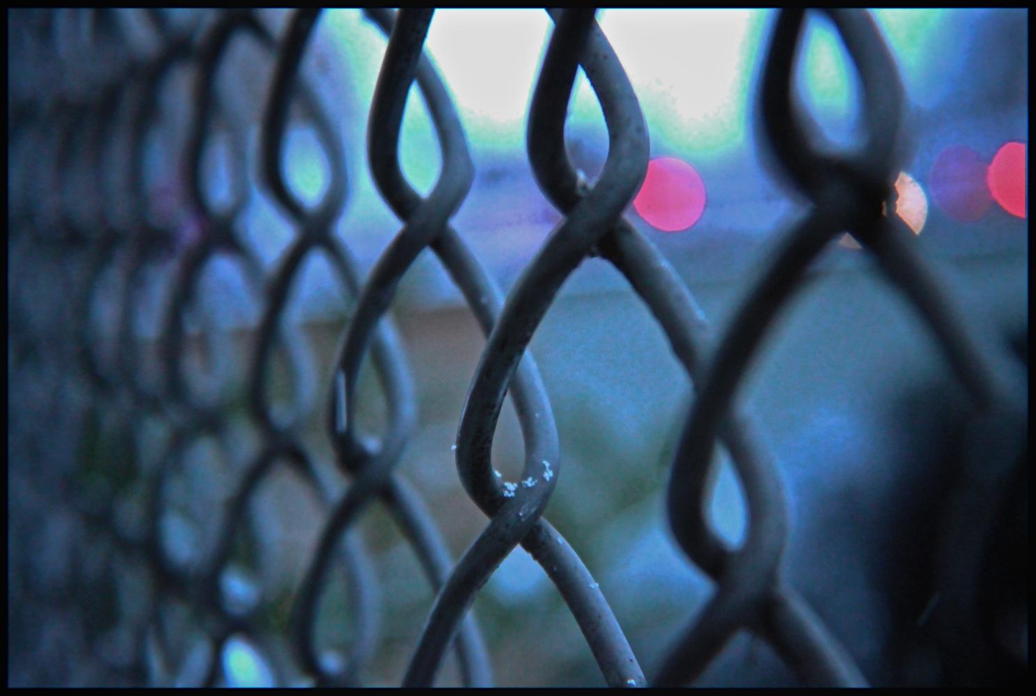 behind bars ...
