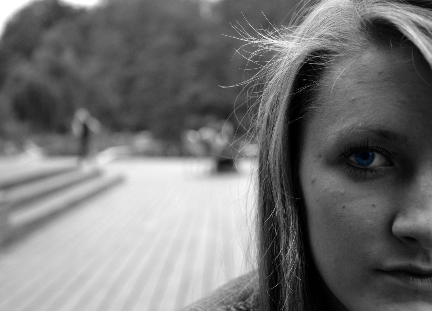 Behind blue eyes...