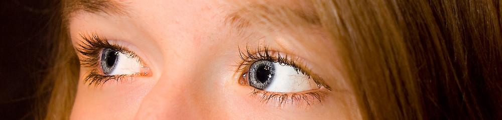 Behind blue eyes :)