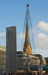 """""""Behüteter"""" Kirchturm"""
