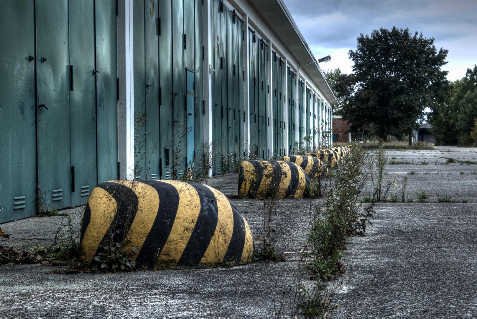 bei den alten Hallen.....