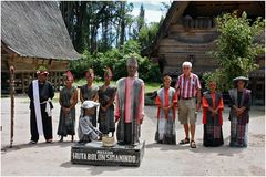 Bei den Batak- Sumatra- Indonesien