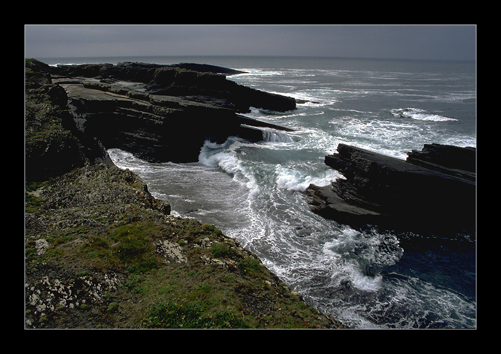 Bei den Bridges of Ross, Co. Clare