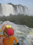 ...bei den Iguacu-Fällen
