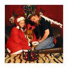 bei den proben für die weihnachtskarten...