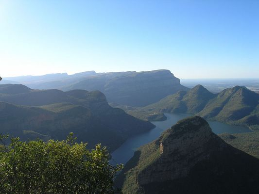 Bei den three Rondawalls (Südafrika)
