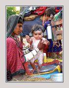 Bei den ursprunglichen Zigeuner in Gujarat