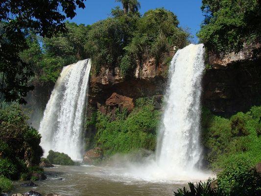 Bei den Wasserfälle von Iguazu November 2013