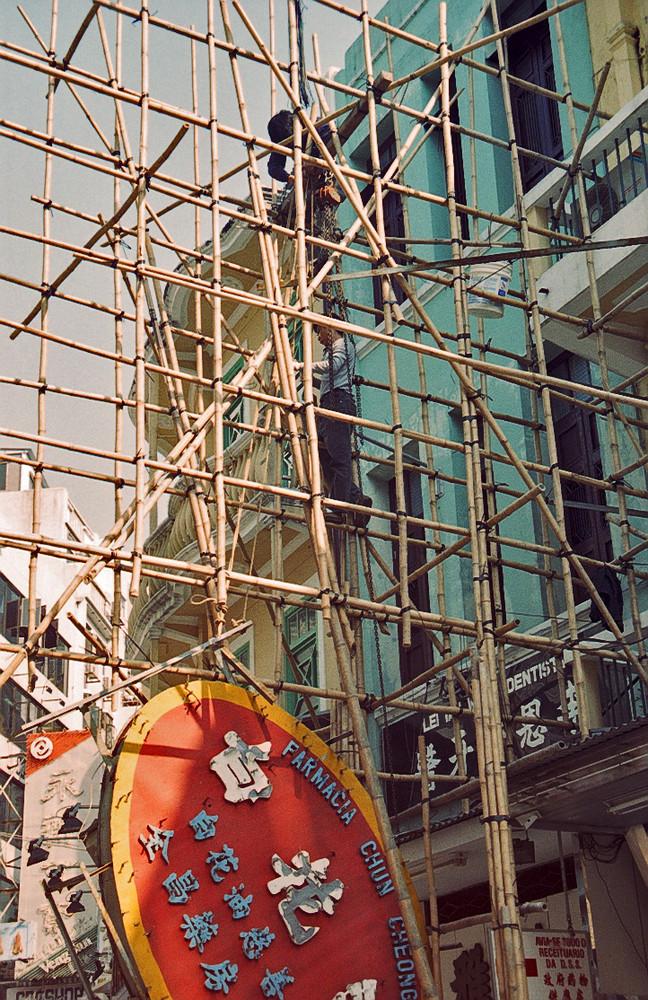 Bei der Arbeit (Macau 1999)