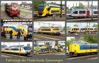 Bei der Eisenbahn in den Niederlanden von Günter Walther