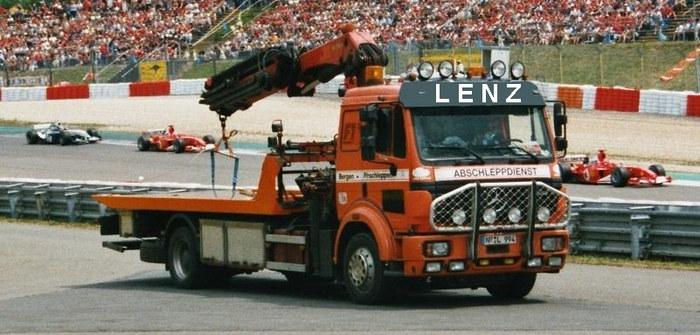 Bei der Formel1