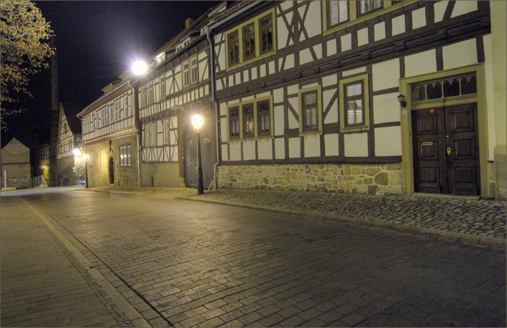 Bei der Marienkirche - Mühlhausen / Thüringen