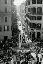 bei der spanischen treppe (in rom)