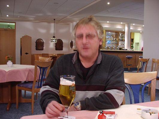 Bei diesem Bier...