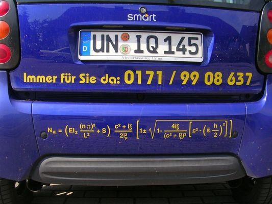 Bei diesem IQ hat die Formel keine Chance!