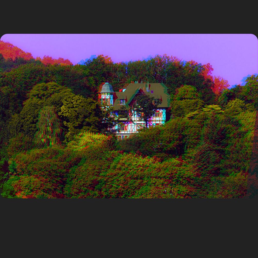 Bei Eisenach / Thüringen 3D