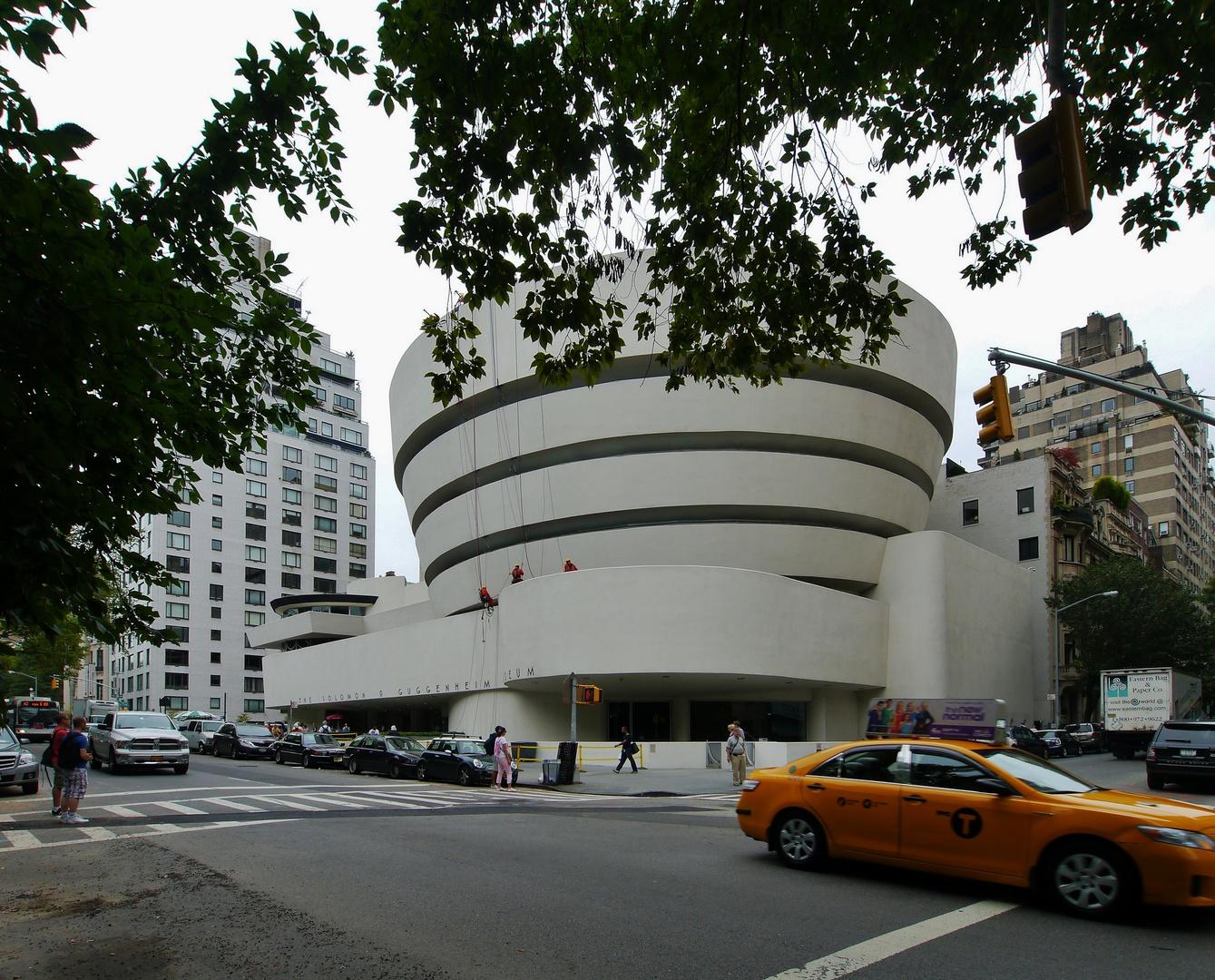 ... bei Guggenheim 's war alles anders !