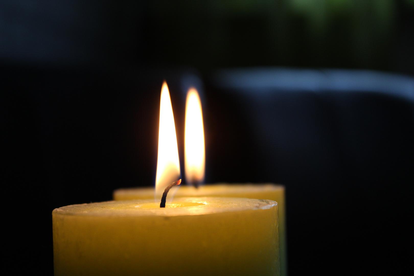 Bei Kerzenlicht...