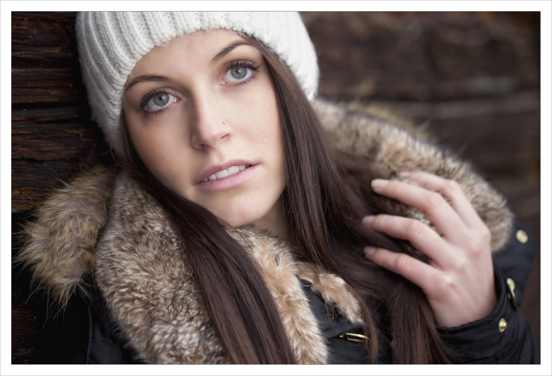 Bei leichtem Schneefall ... 12.2012