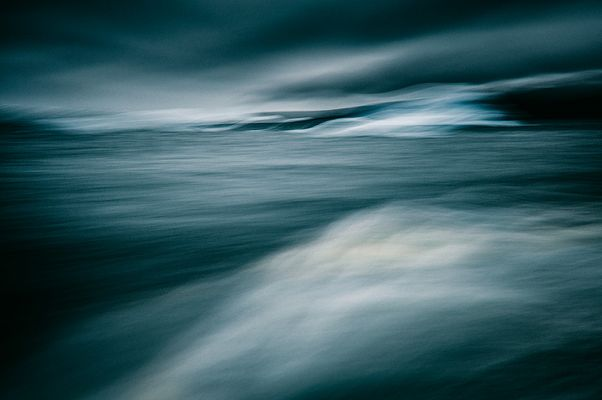 Bei Nacht schickt olle Neptun seine Schergen hoch ...