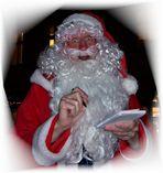 ...bei uns war der echte Weihnachtsmann, stimmt´s!!!!????