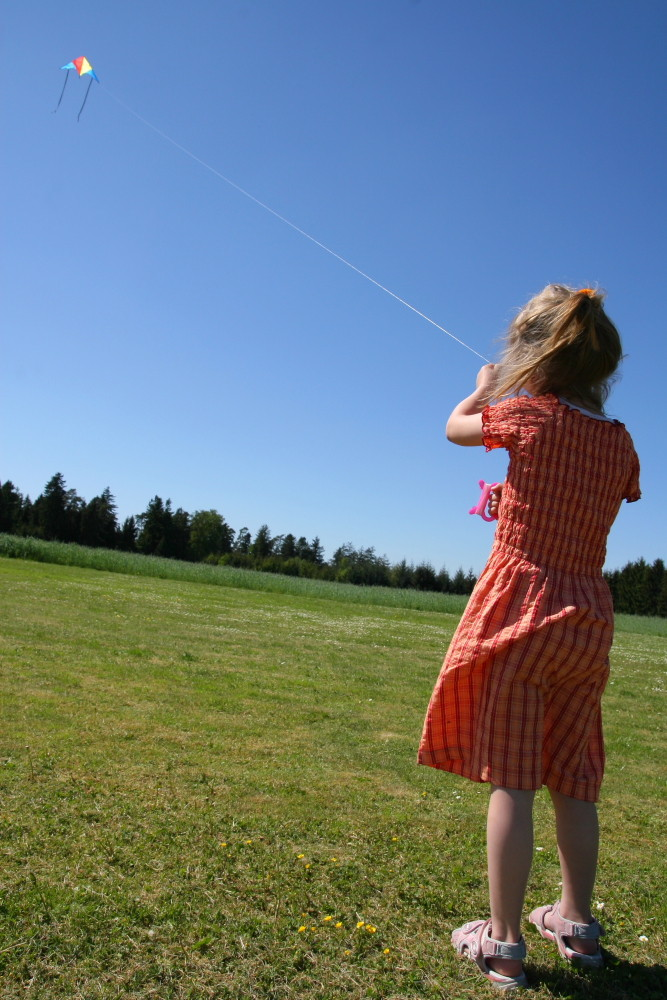 Bei Wind und Sonne